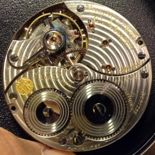 Image of Ball - Waltham Official Standard #B251258 Movement