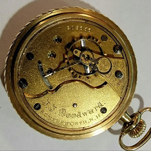 Seth Thomas Grade 58 Pocket Watch Image