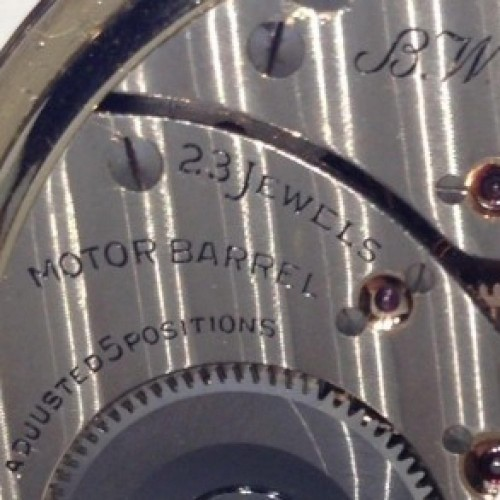Elgin Grade 540 Pocket Watch Image