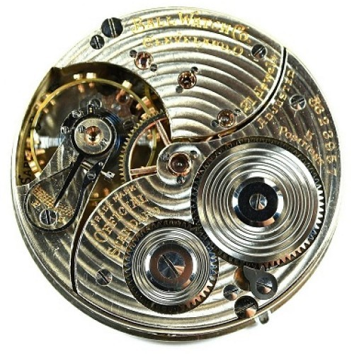 Ball - Hamilton Grade 999P Pocket Watch Image