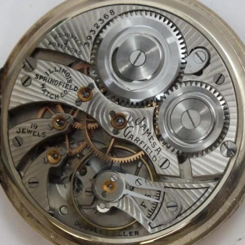 Illinois Grade 427 Pocket Watch Image