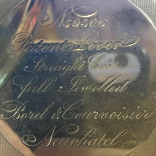 Swiss Imports Grade Borel & Courvoisier Pocket Watch Image
