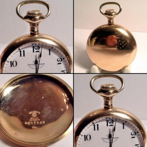 Ball - Hamilton Grade 999H Pocket Watch Image
