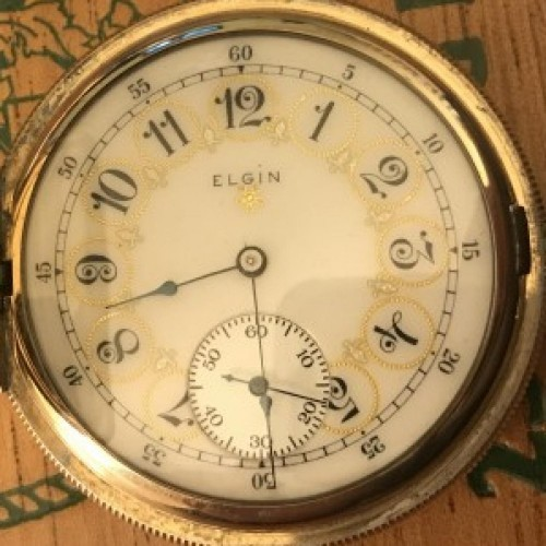 Elgin Grade 381 Pocket Watch Image
