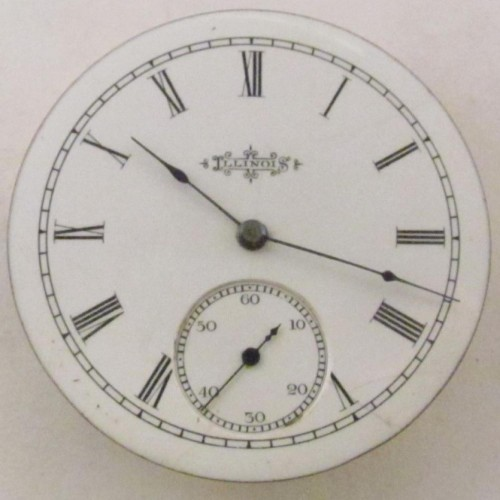 Illinois Grade 110 Pocket Watch Image