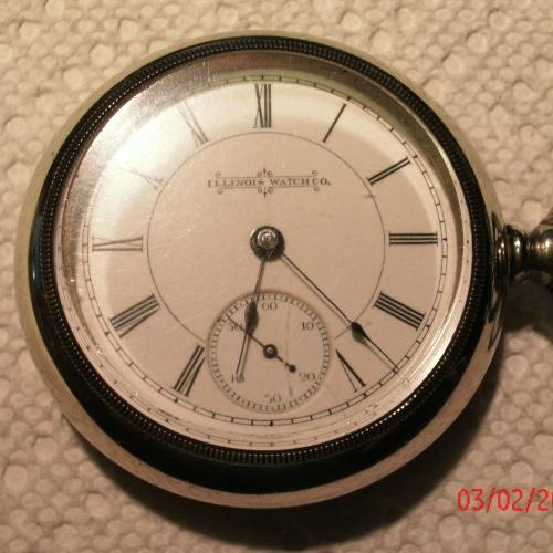Illinois Grade 2 1/2 Pocket Watch Image