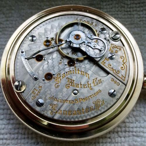 Hamilton Grade 940 Pocket Watch Image