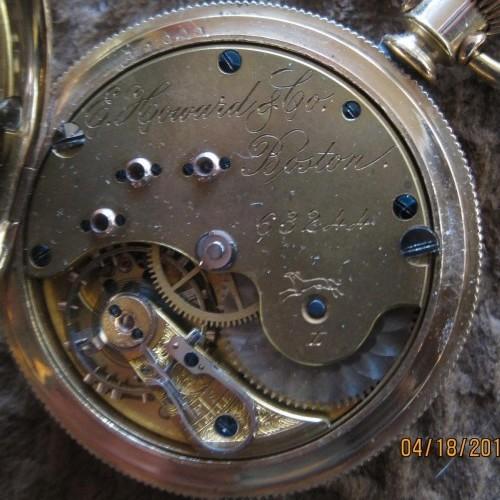 E. Howard & Co. Grade Series 5 Pocket Watch Image