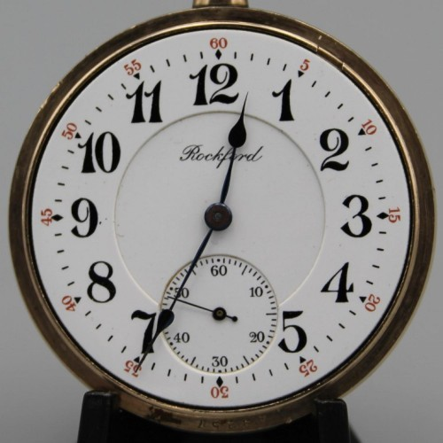 Rockford Grade 566 Pocket Watch Image