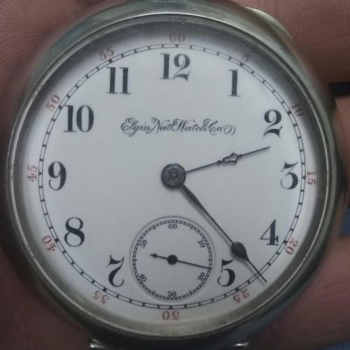 Elgin Grade 76 Pocket Watch Image