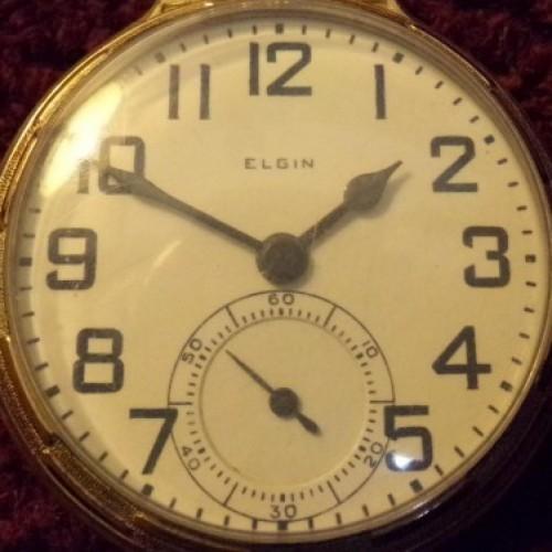 Elgin Grade 478 Pocket Watch Image