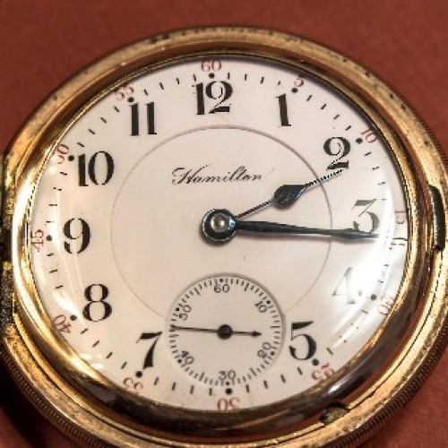 Hamilton Grade 943 Pocket Watch Image