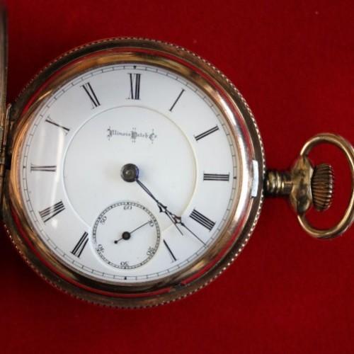 Illinois Grade 105 Pocket Watch Image
