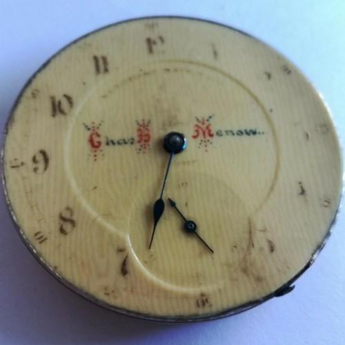 Image of Keystone Standard Watch Co.  #102555 Dial