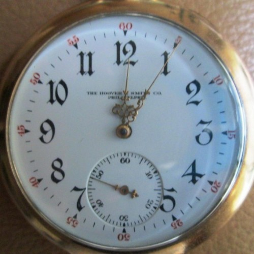 Illinois Grade 273 Pocket Watch Image