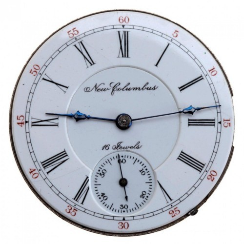 Columbus Watch Co. Grade Columbus King Pocket Watch Image