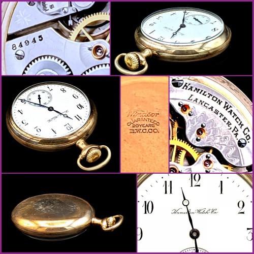 Hamilton Grade 976 Pocket Watch