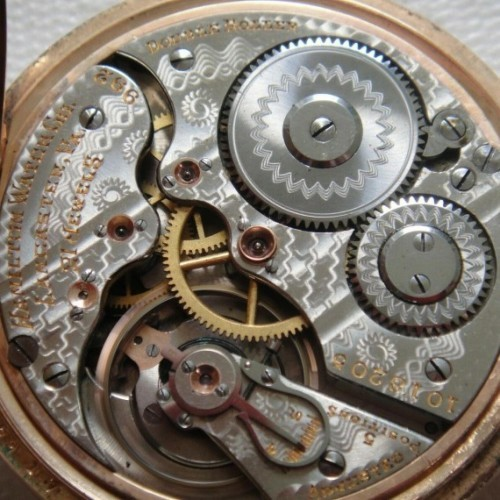 Hamilton Grade 992 Pocket Watch Image