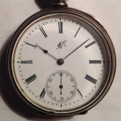 Image of Columbus Watch Co. Unknown #4246 Dial