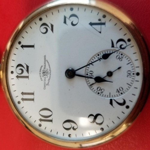 Image of Ball - Waltham Official Standard #B209283 Dial