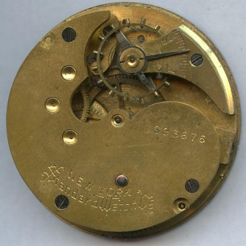 Image of New York Standard Watch Co.  #1393676 Movement