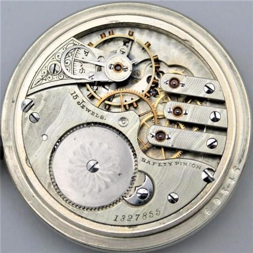 Illinois Grade 173 Pocket Watch Image
