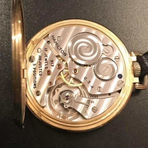 Hamilton Grade 917 Pocket Watch Image