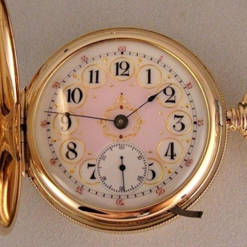 Hampden Grade Lafayette Pocket Watch Image
