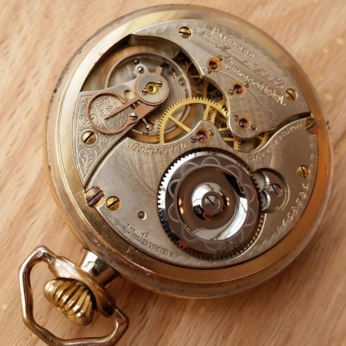 Illinois Grade 176 Pocket Watch Image