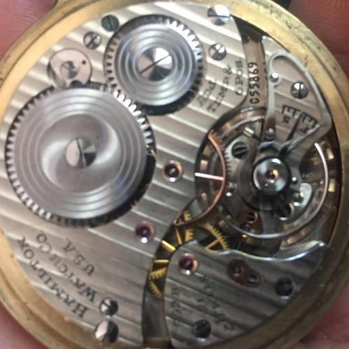Image of Hamilton 992B #C55869 Movement