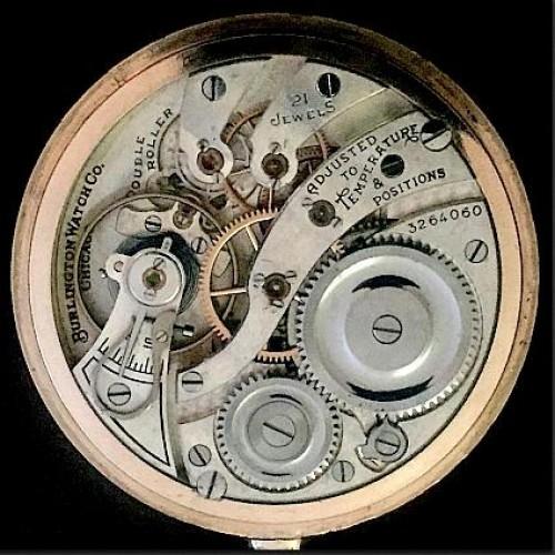 Illinois Grade 108 Pocket Watch Image