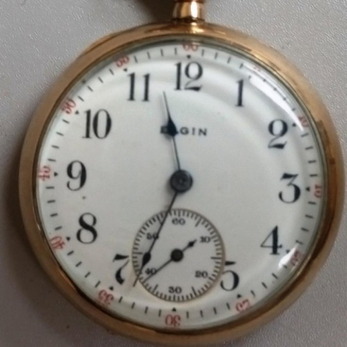 Elgin Grade 355 Pocket Watch Image