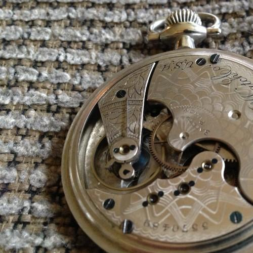 Elgin Grade 139 Pocket Watch Image