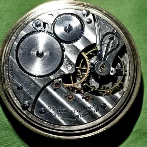 Illinois Grade 603 Pocket Watch Image