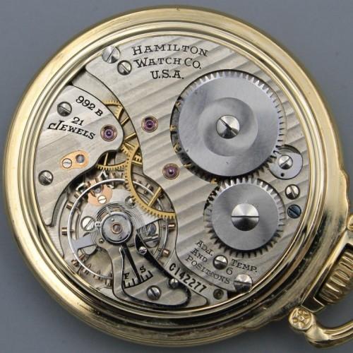 Hamilton Grade 992B Pocket Watch Image