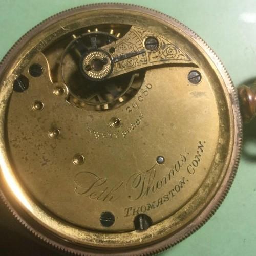 Seth Thomas Grade 33 Pocket Watch Image