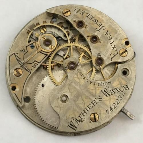 Illinois Grade 142 1/2 Pocket Watch Image