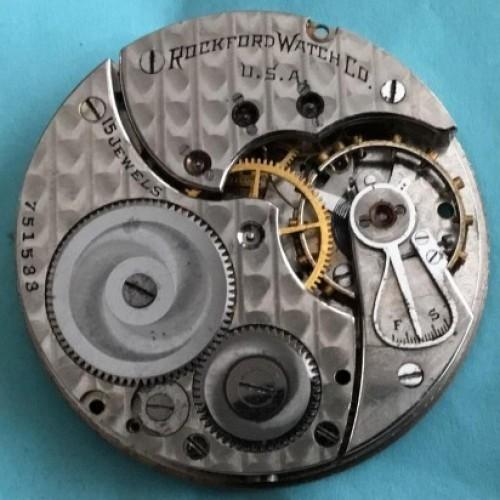Rockford Grade 587 Pocket Watch Image