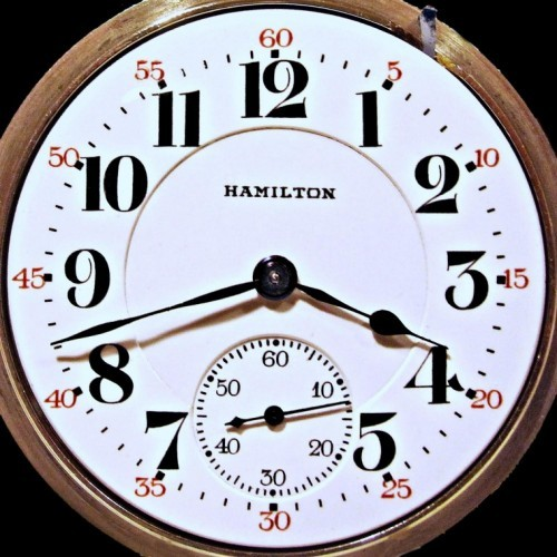 Hamilton Grade 952 Pocket Watch Image