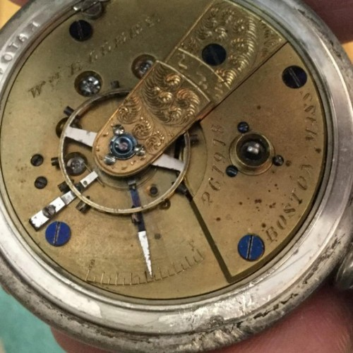 American Watch Co. Grade Wm. Ellery Pocket Watch Image