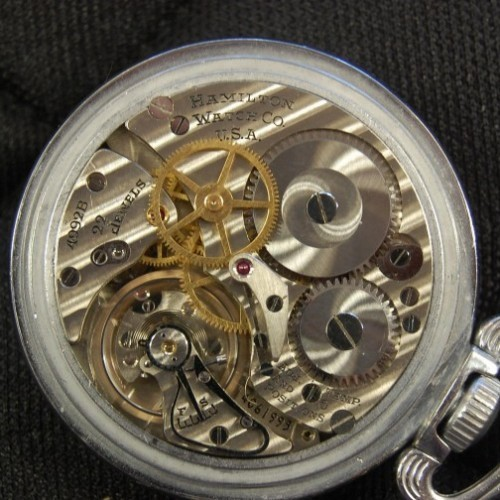 Image of Hamilton 4992B #4C61995 Movement