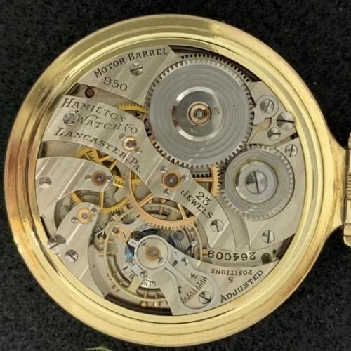 Hamilton Grade 950E Pocket Watch Image