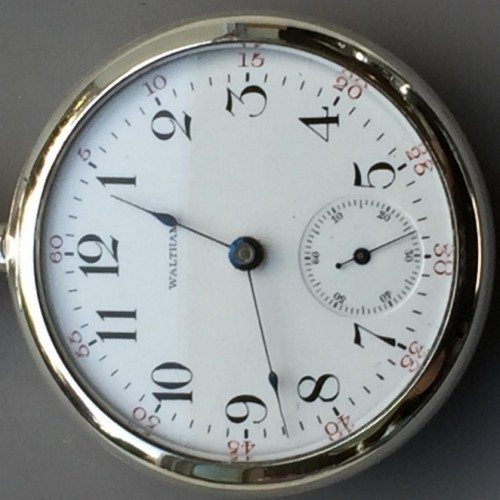 Waltham Grade No. 81 Pocket Watch