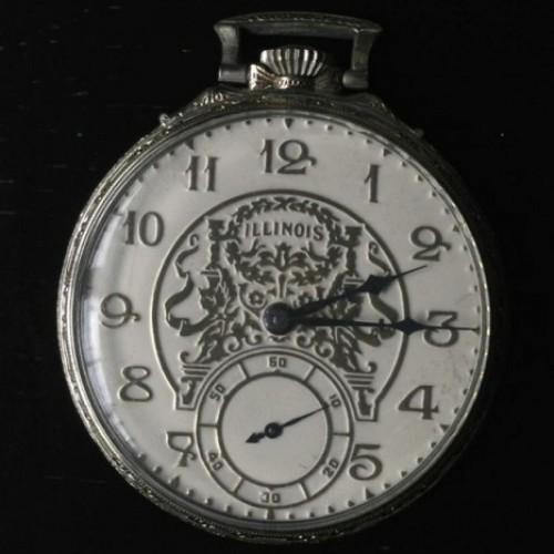 Illinois Grade 527 Pocket Watch