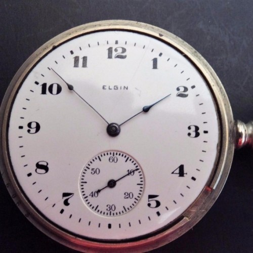Elgin Grade 185 Pocket Watch Image