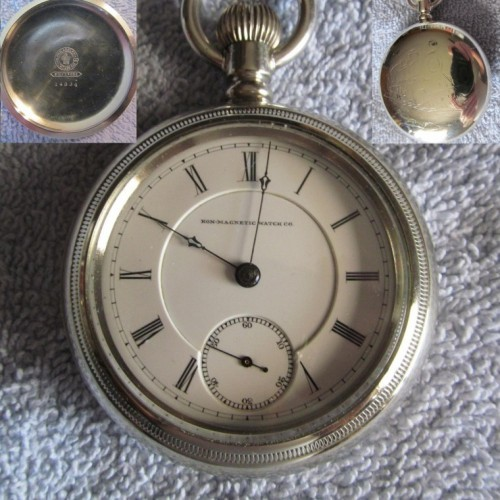 Peoria Watch Co. Grade A. A,  Extra Pocket Watch Image
