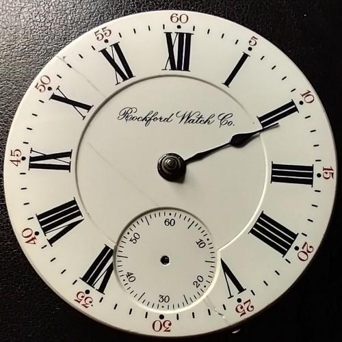 Rockford Grade 805 Pocket Watch Image