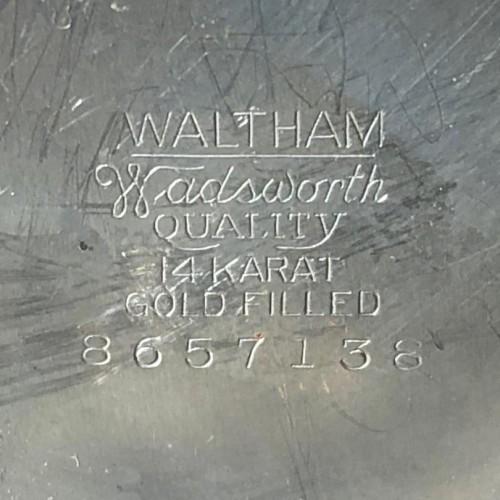 Waltham Grade No. 1235 Pocket Watch Image