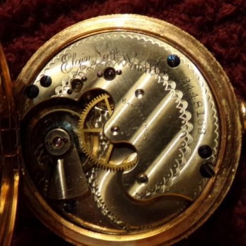 Elgin Grade 45 Pocket Watch Image