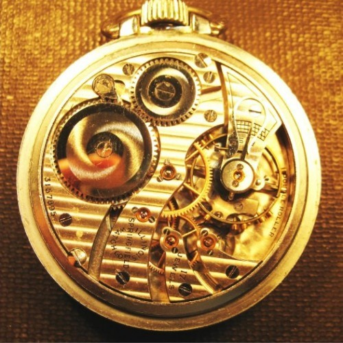 Illinois Grade 304 Pocket Watch Image